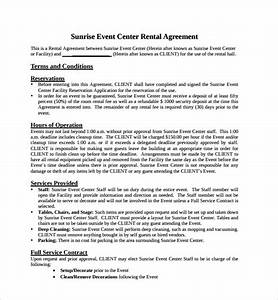event space rental agreement template 28 images free With event space rental contract template