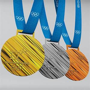 3D pyeongchang 2018 olympic medal - TurboSquid 1231163