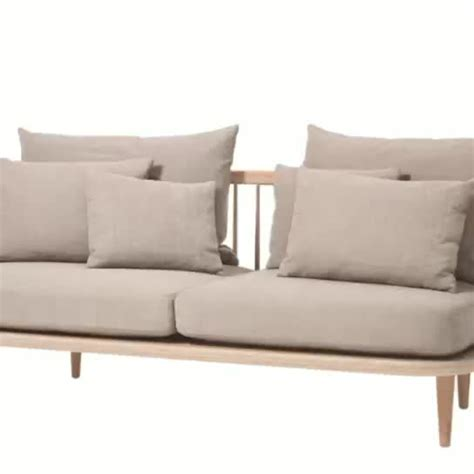 Contemporary Wooden Sofa by Modern Scandinavian Hotel Customize Furniture Solid Wood