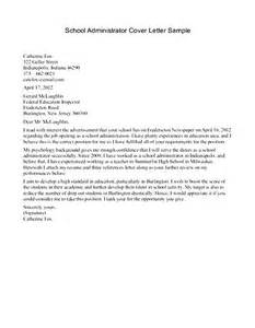 School Receptionist Cover Letter Examples