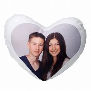 Herzkissen Mit Foto : foto kissen in herzform individuell gestalten contento ~ Watch28wear.com Haus und Dekorationen