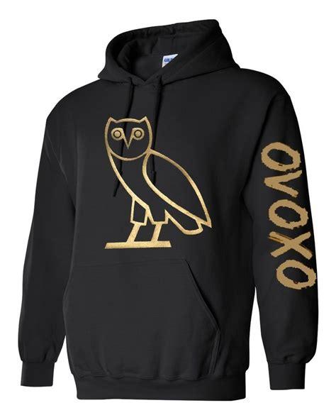 ovo sweater ovo gold owl ovoxo octobers own weeknd hoodie