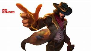 Twisted Fate High Noon Render by IMBSignatures on DeviantArt