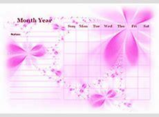 Blank Calendar 2017 Template – Free Printable Blank
