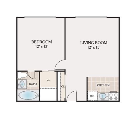 floor plans atrium apartments  rent  philadelphia pa