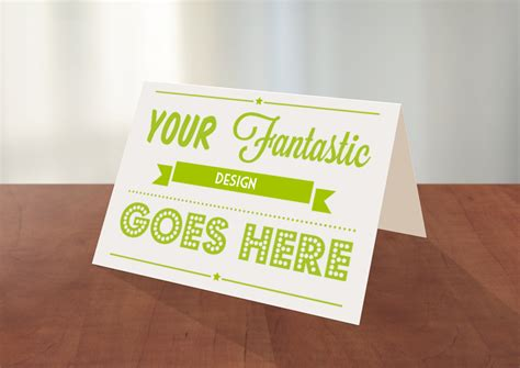 greeting card template photoshop greeting card photoshop mockup pitchstock