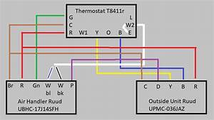 Rheem Heat Pump Low Voltage Wiring Diagram