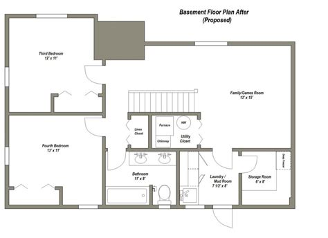 4 Bedroom House Plans With Basement by Luxury Home Floor Plans With Basements New Home Plans Design