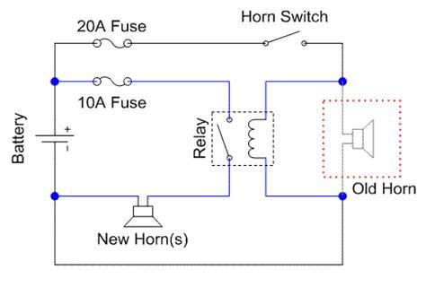 wiring diagram relay klakson images diagram sle and