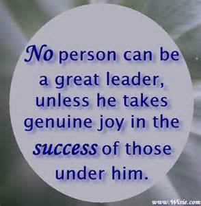 Positive Quotes About Leadership