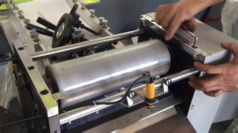 roller  paper embossing machine youtube