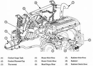 2001 Saturn L300 Engine Diagram Top View