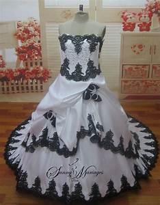 Robe De Mariée Noire : great blog robe robe de mariee avec dentelle noire ~ Dallasstarsshop.com Idées de Décoration