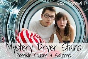 Laundry Load Size Chart Mystery Dryer Stains Possible Causes And Solutions