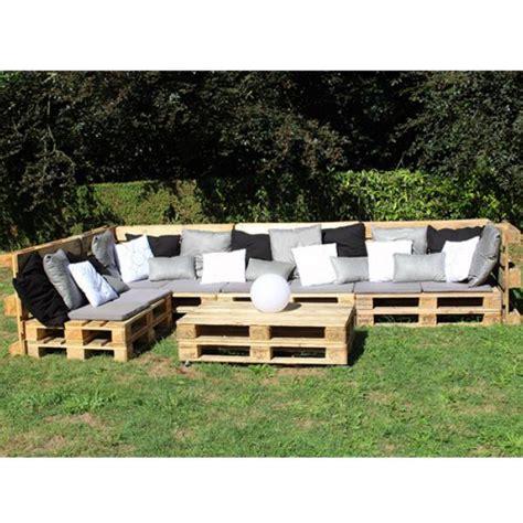 fabriquer un canapé en palette fabriquer canape d angle en palette maison design