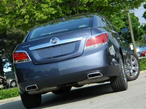 find   buick lacrosse premium pkge awd backup