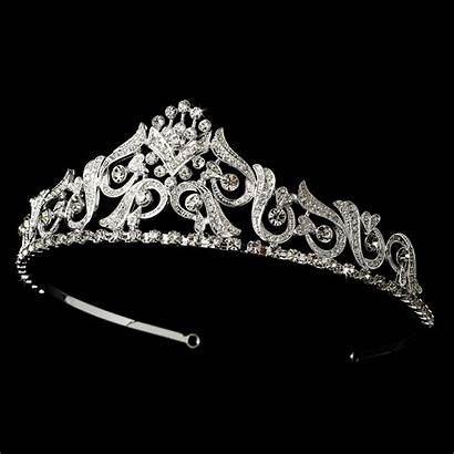 Tiara Crown Bridal Tiaras Nova Hp Silver
