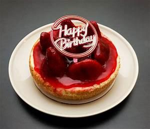 "Happy Birthday to Wifey! - 6"" Strawberry Cheesecake - Yelp"