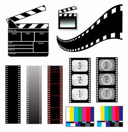 Filmstrip Film Graphic Clapper Board Schindel Movie