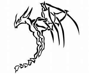 Celtic knot tribal dragon by WrensthavAviovus on DeviantArt