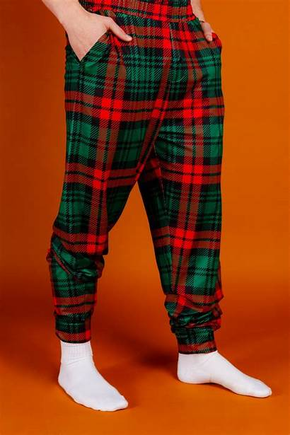 Plaid Pajama Bottoms Lincoln Daddy Pants Mens