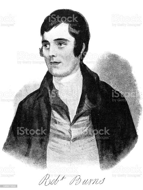 Robert Burns Also Known As Rabbie Burns The Bard Of ...