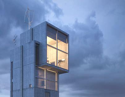 relocating tadao ando s 4x4 concrete house on behance