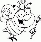 Bee Bumble Coloring Pages Printable sketch template