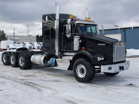 kenworth heavy kenworth t800 tri axle heavy hauler awesome haulers