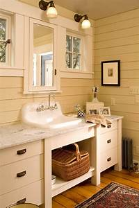 lovely traditional bathroom sinks bathroom sink cabinets Powder Room Eclectic with beige ...
