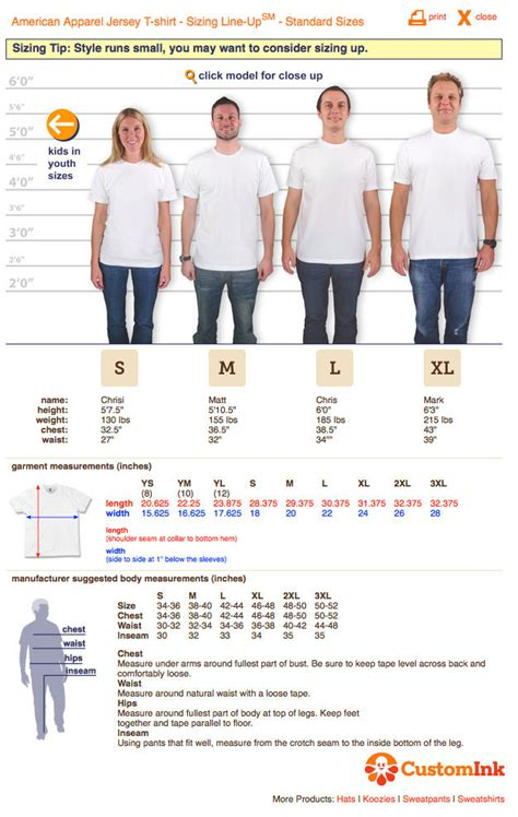 shirt sizing  gildan hanes american apparel shirts fit