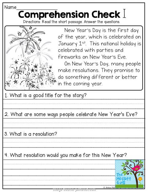 newest guided reading comprehension year 4 january no prep