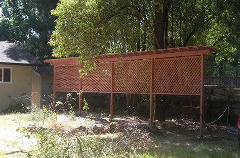 Outdoor Privacy Trellis by Privacy Trellis Ideas Outdoor Waco How To Build