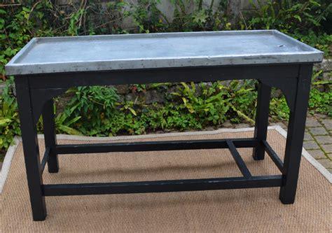 recouvrir bureau recouvrir une table de zinc plaque de zinc pour