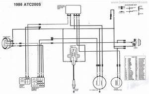 1986 Honda Fourtrax 250 Wiring Diagram