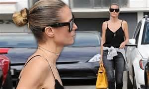 Heidi Klum looks beautiful leaving salon in Los Angeles ...