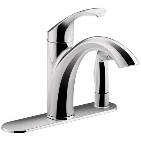 kohler kitchen faucets home depot kohler mistos single handle standard kitchen faucet with