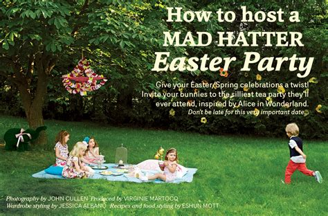ideas a mad hatter easter picnic today 39 s parent