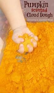 Pumpkin Cloud Dough