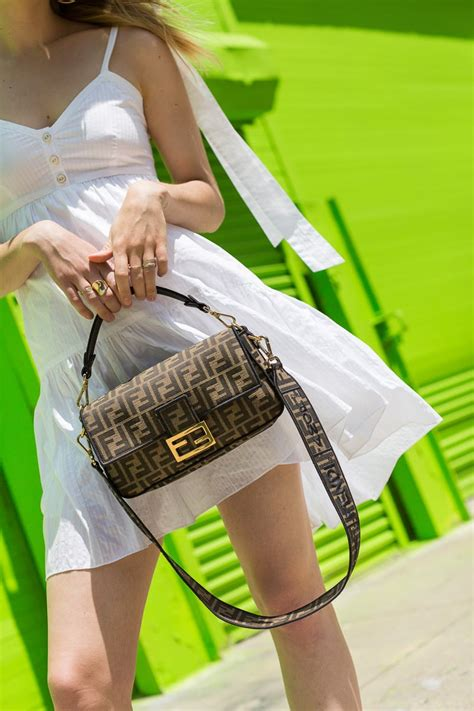 A Close Look at the Fendi Roma Amor Baguette Bag - PurseBlog