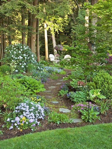landscaping ideas for areas shade garden ideas