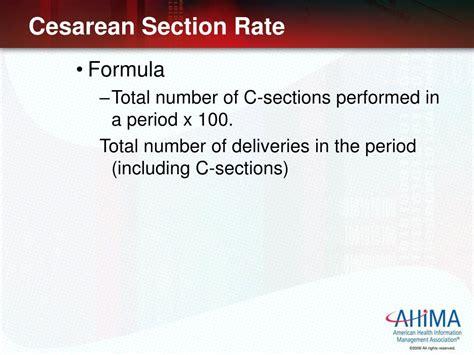 Calculating & Reporting Healthcare Statistics