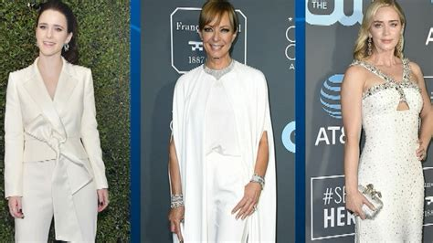 2019 Critics' Choice Awards Fashion Recap | Entertainment ...