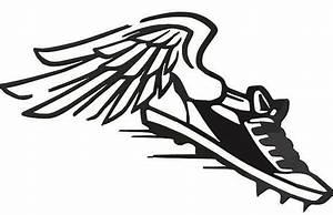 Flying Shoe Logo - ClipArt Best