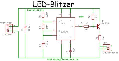 led blitzlicht mikrocontrollernet