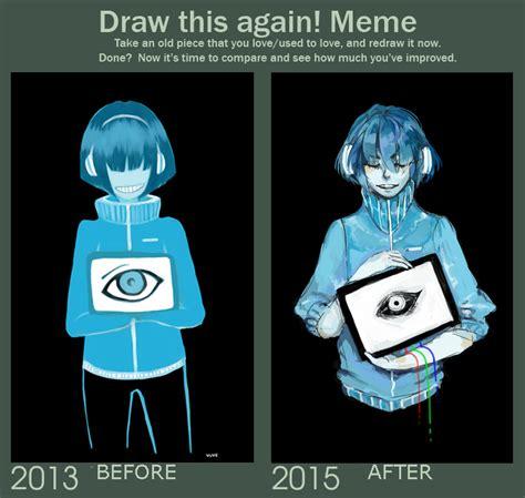 Draw This Again Meme - draw this again meme by vuve on deviantart