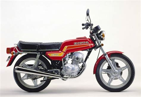 Honda Cb 125 by Honda Cb 125 T 1977 1986 Schicke Drehorgel