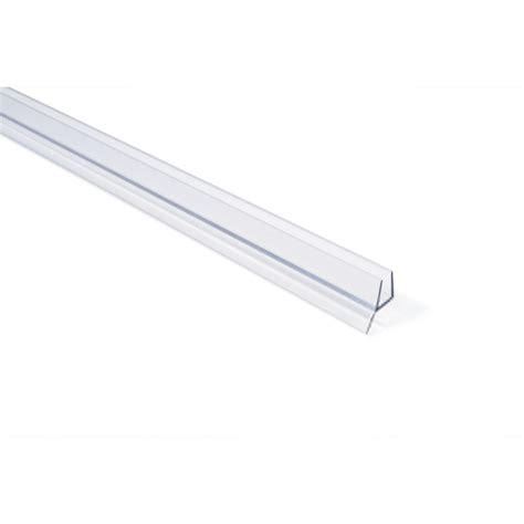 frameless shower door seal frameless shower door seal with wipe for 1 4 quot glass in