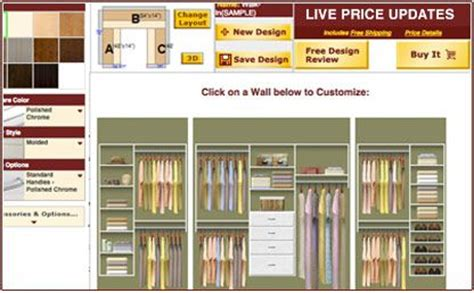 Design My Own Closet by Website To Design Closets Home Design Your