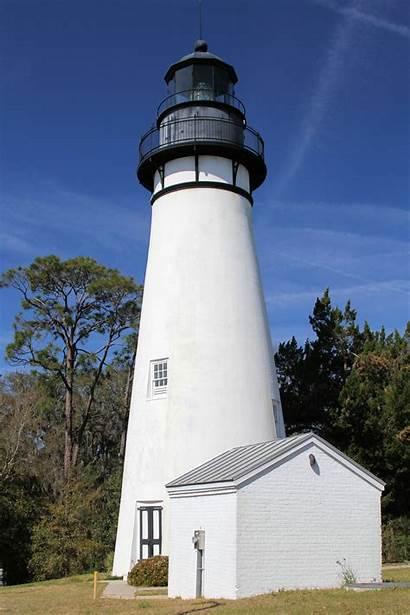 Amelia Island John Lighthouse Mann Thomas Florida